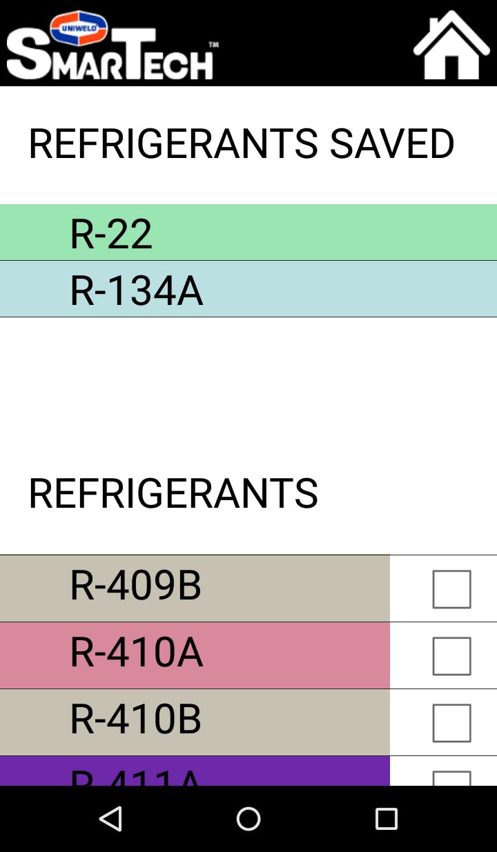 Find a Refrigerant